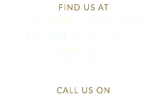 FIND US AT Freemantle Park Farm 